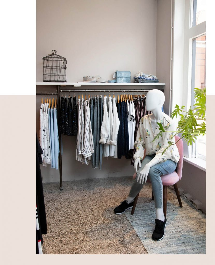 Personal shopping bij Hop&Co en Nells
